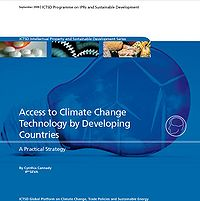 Access to Climate Change Technology by Developing Countries Screenshot
