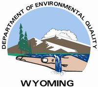 Logo: Wyoming Department of Environmental Quality