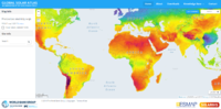 Global Solar Atlas Screenshot