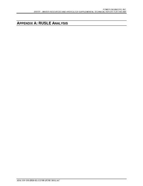 File:Barren Ridge FEIS-Volume IV ANF Water Appendix A RUSLE Analysis Report.pdf