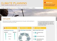 Climate Compatible Development Tools: A guide for national planning Screenshot