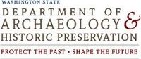 Logo: Washington State Department of Archaeology and Historic Preservation