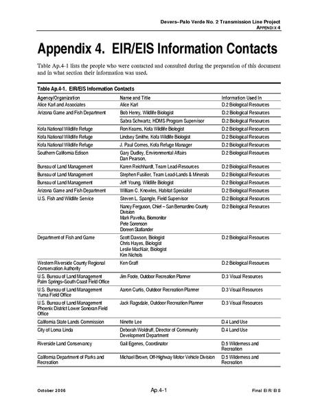 File:Devers Palo Verde No2-FEIS P Appendix 4 EIR-EIS Information Contacts.pdf