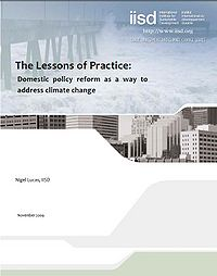 The Lessons of Practice: Domestic Policy Reform as a Way to Address Climate Change Screenshot
