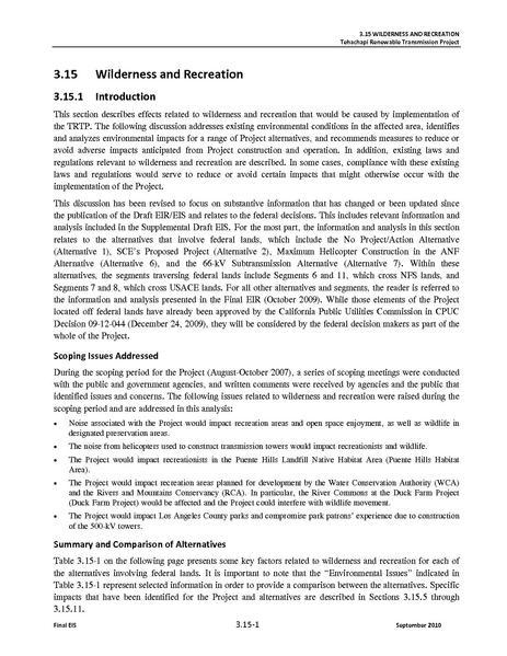 File:Tehachapi Renewable FEIS Volume II 2 Wilderness and Recreation.pdf