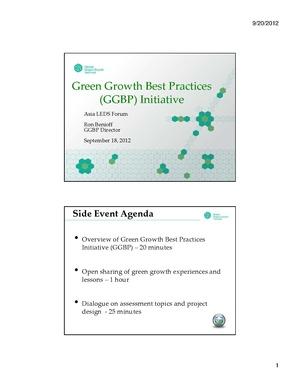 GGBP Asia LEDS Forum - Ron Benioff.pdf