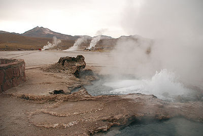 Geisers del Tatio, Chile
