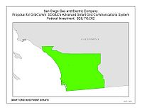 Coverage Map: San Diego Gas and Electric Company Smart Grid Project