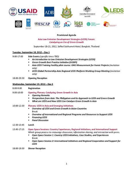 File:Asia LEDS Forum (Sept 2012) Agenda 2012-08-09.pdf