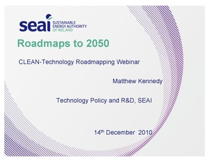 Roadmaps to 2050 - Sustainable Energy Authority of Ireland