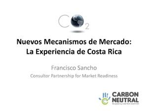 Sancho - Nuevos Mecanismos de Mercado La Experiencia de Costa Rica.pdf
