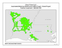 Coverage Map: Cleco Power LLC Smart Grid Project