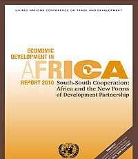 Africa-Economic Development Report 2010 Screenshot