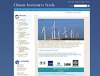 India-Clean Technology Fund (CTF) Screenshot