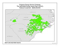 Coverage Map: Progress Energy Service Company, LLC Smart Grid Project