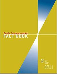 2011 APTA Public Transportation Fact Book Screenshot