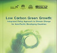 Low Carbon Green Growth: Integrated Policy Approach to Climate Change for Asia-Pacific Developing Countries Screenshot