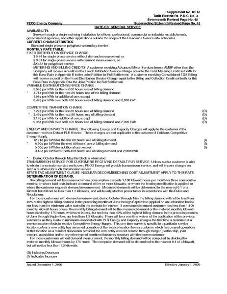 File:Utility Rate Philadelphia General Svc RateGS2009.pdf