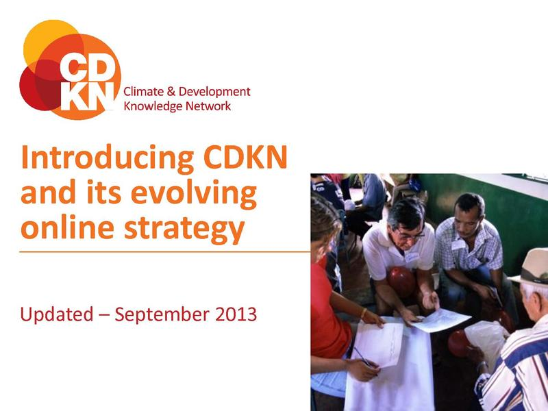 File:Introduction to CDKN and its online strategy.pdf