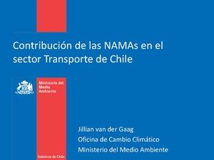 Jillian van der Gaag Contribucion de las NAMAS en el sector transporte en Chile.pdf