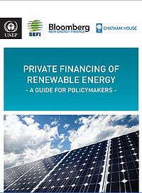 Private Financing of Renewable Energy: A Guide for Policymakers Screenshot