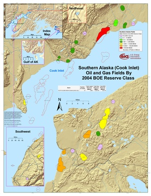 Alaska's Cook Inlet By 2001 BOE Reserve Class