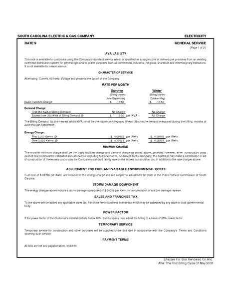 File:Utility Rate SCEG General rate9.pdf