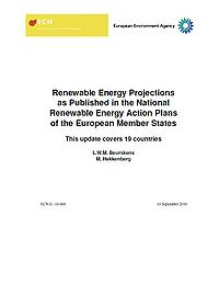 Renewable Energy Projections as Published in the National Renewable Energy Action Plans of the European Member States Screenshot