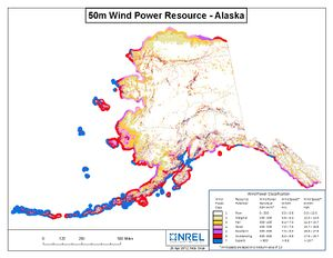 Alaska 50m Wind Resource (JPG)