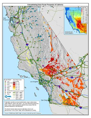 3 Percent Slope Concentrating Solar Power Prospects of California (JPG)