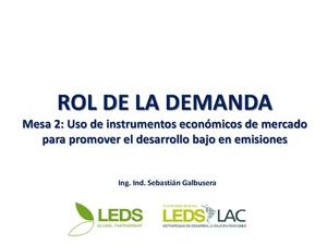 Uso de instrumentos económicos de mercado para promover el desarrollo bajo en emisiones - Galbusera.pdf