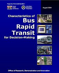 FTA-Characteristics of Bus Rapid Transit for Decision-Making Screenshot