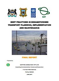 Best Practices in Non-Motorized Transport Planning, Implementation and Maintenance Screenshot