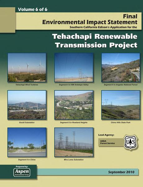 File:Tehachapi Renewable FEIS Volume VI Appendix 6 Verbal and Emailed Public Comments.pdf