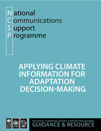 Applying Climate Information for Adaptation Decision-Making: A Guidance and Resource Document Screenshot