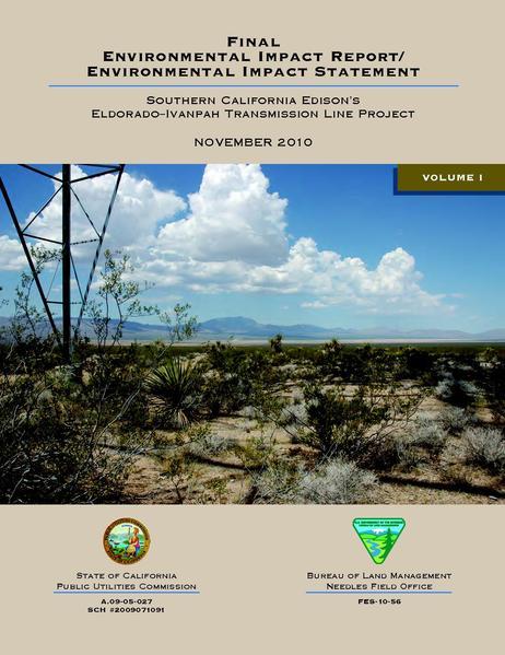 File:Eldorado-Ivanpah FEIS Volume I.pdf