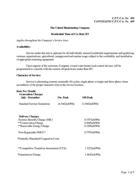 File:Utility Rate United TOU Residential Rate RT.pdf