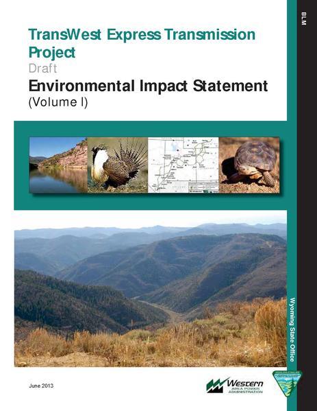 File:Transwest Express DEIS Volumes I through III.pdf