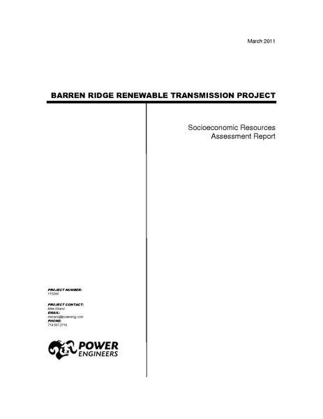 File:Barren Ridge FEIS-Volume III Socio Tech Rpt.pdf