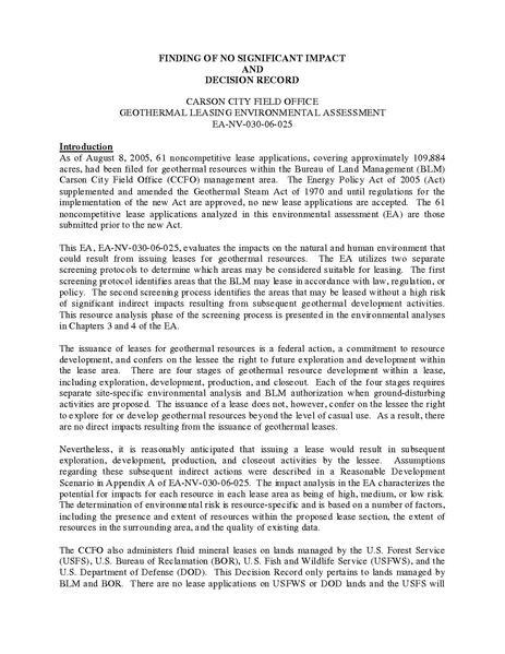 File:DOI-BLM-NV-030-06-025-EA FONSI 2006.pdf