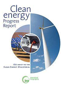 IEA Clean Energy Progress Report Screenshot