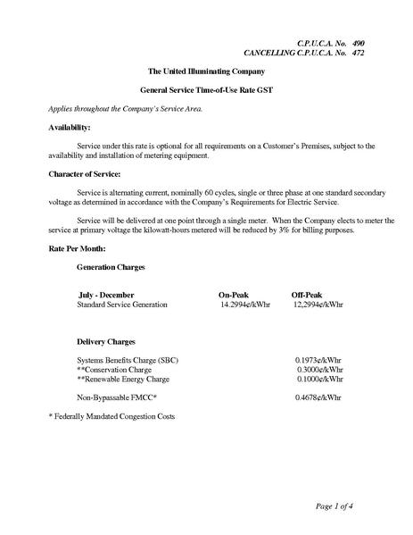 File:Utility Rate United TOU Commercial and Industrial Rate GST.pdf
