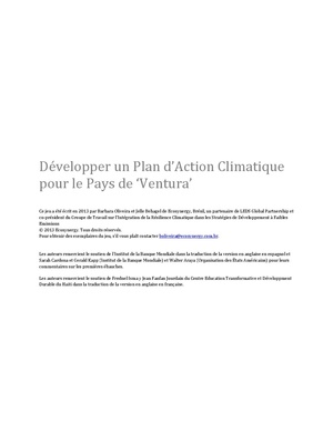 Climate Resilience Training Africa French.pdf