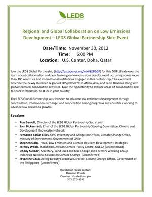 LEDSGPDoha - Advancing Collaborative Action for Low Emissions Development.pdf