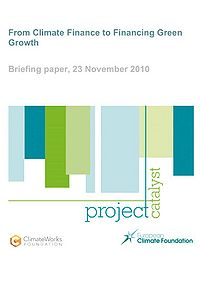 From Climate Finance to Financing Green Growth Screenshot