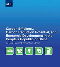 Carbon Efficiency, Carbon Reduction Potential, and Economic Development in the People's Republic of China Screenshot