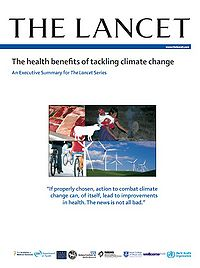 The Health Benefits of Tackling Climate Change: An Executive Summary for The Lancet Series Screenshot