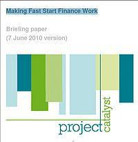 Making Fast Start Finance Work Screenshot