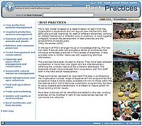 Best Practices-Food and Agriculture Organization of the United Nations Screenshot