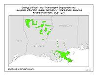 Coverage Map: Entergy Services, Inc. Smart Grid Project